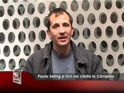 Paula Seling şi Ovi vor cânta la Câmpina