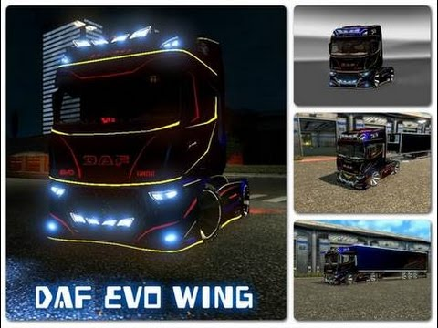 DAF Evo Wing + Trailer v1