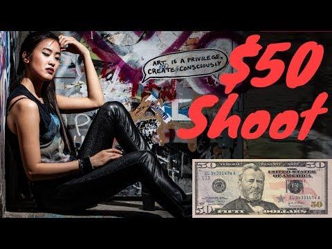 $50 Photoshoot Challenge!
