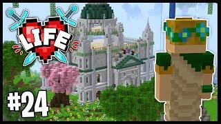VISITING THE JEREMY HOLY LAND!!   Minecraft X Life SMP   #24