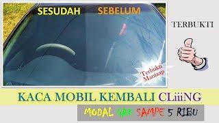Download Video KACA MOBIL KEMBALI CLING.. MODAL 5 RIBU BISA PAKAI BERKALI-KALI MP3 3GP MP4