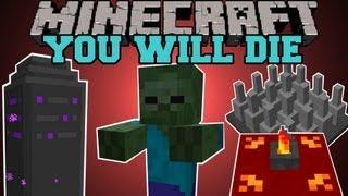 Minecraft : YOU WILL DIE! (DUNGEONS, QUESTS, RPG, BUFFS) Mod Showcase