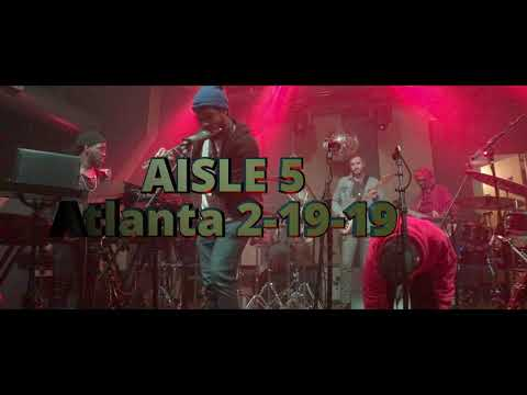 Ghost-Note, LIVE FULL SET PRO AUDIO at Aisle 5, Atlanta, 2-19-19