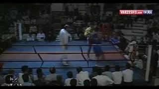 مسابقه نمایشی محمد علی واصغر کاظمی در ورزشگاه شیرودی (امجدیه ) ۱۳۷۲