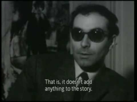 Godard - an interview in french with english subtitles.