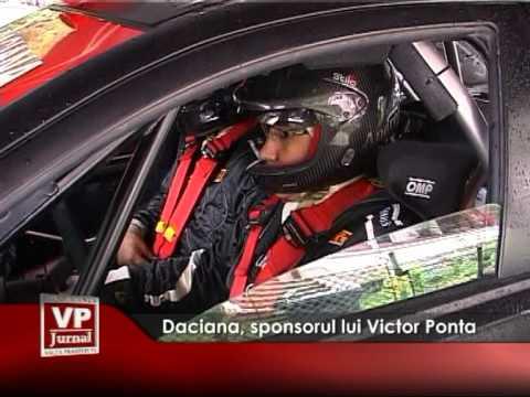 Daciana, sponsorul lui Victor Ponta