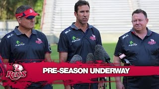 Reds coach Graham on the Reds preseason | Super Rugby Video Highlights