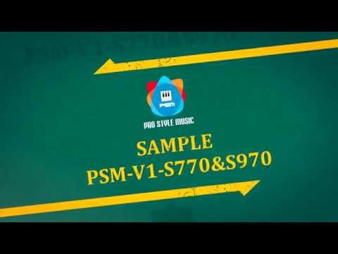 Trailer Sample PSM-V1-S770 & S970 | Yamaha Style