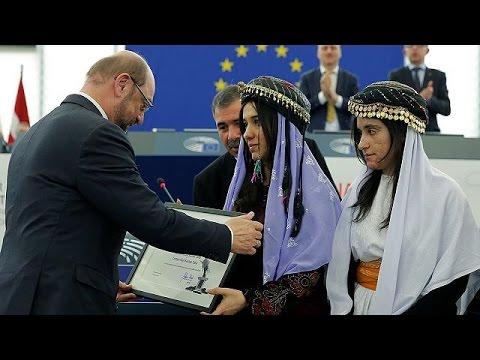 Η Ευρώπη απονέμει το βραβείο Ζαχάρωφ 2016 σε θύματα των τζιχαντιστών