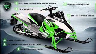 7. All new 2012 Arctic Cat sleds