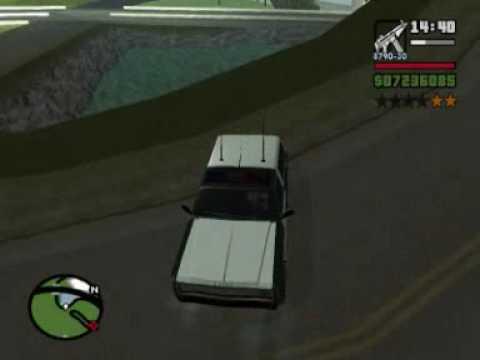 GTA San Andreas cops : Bloopers & funny moments #3