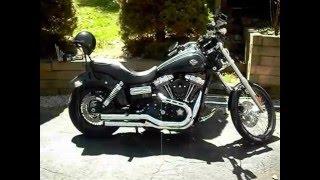 4. 2010 Harley Davidson Dyna Wide Glide Cold Start