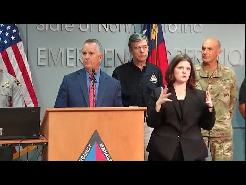 N.C. officials provide updates on Hurricane Florence