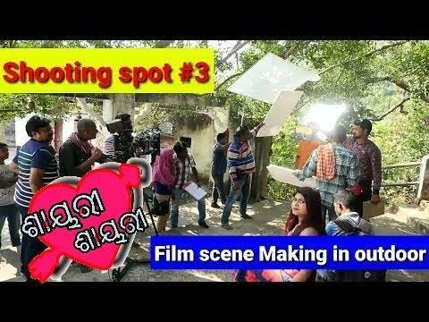 Video Film scene Making in outdoor. Upcoming Odia movie