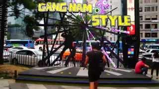 Bailar el Gang nam Style en Gang nam Street