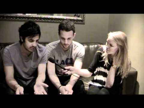 YoungtheGiant - Fresh from their appearance on Jools Holland, www.catsbandcrushes.com meets Sameer and Francois backstage in London to discuss staying friends on tour, R Kel...