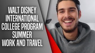 Walt Disney International College Program Summer Work and Travel