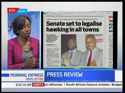Hawking will soon become a serious business in Kenya