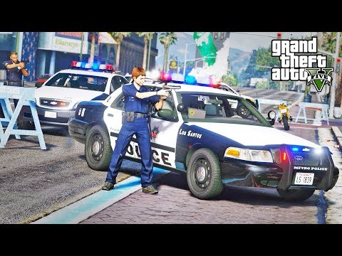 GTA 5 LSPDFR #326 - Another Bank Heist