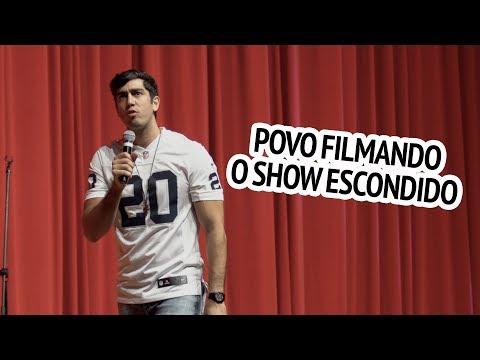 Stand Up do Jonathan Nemer - Povo filmando o show escondido
