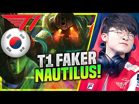 FAKER IS A BEAST WITH NAUTILUS! - T1 Faker Plays Nautilus Support vs Janna! | KR SoloQ Patch 10.22