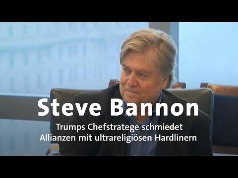 Trumps Chefstratege: Bannons Netzwerk in Europa