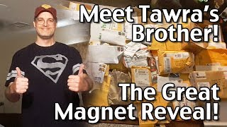 Subscribe to Living On A Dime on YouTube! http://bit.ly/1QDDmbNVisit Our Website: http://www.LivingOnADime.com/Free e-Mail Newsletter: http://bit.ly/1LfQf4yMeet Tawra's Brother! The Great Magnet Reveal, Part 1Many of you were involved in sending refrigerator magnets from all over the world as gifts to my sister in law who collects them! In today's part 1 video, my brother introduces the situation and prepares for the big reveal! Find all of our books, including our Dining On a Dime cookbook here:http://www.livingonadime.com/store/Find our How To Save Money On Groceries e-Course here:http://www.livingonadime.com/save-money-groceries-bill-ecourse/Get my How To Make Soap For Beginners e-Course here:http://www.livingonadime.com/how-to-make-soap-for-beginners/My Homemade Soap Channel - How to Make Soap On A Dimehttp://bit.ly/2m4nOSGBJ's YouTube Channelhttps://www.youtube.com/channel/UC_eboJJ346s-qIcysCTr3tAElly's YouTube Channelhttps://www.youtube.com/channel/UCcLi_6mgUNux0IqoADCd1aAFor More Easy Ideas, Visit Our Website: http://www.LivingOnADime.com/Our mailing address:Living On A DimeP.O. Box 193Mead, CO 80542You can send us an e-mail here:http://www.livingonadime.com/contact/**********************The equipment we use for our videosThe camera: for recipes: http://amzn.to/2azAcGZfor on the go shots: http://amzn.to/2amE3HKfor Live videos: http://amzn.to/2amDVs4The lights: http://amzn.to/2acLdM2The editing software:http://amzn.to/2aHsdYpThe computer: http://amzn.to/2ap7Ik2For Audio: http://amzn.to/2amF82cPlease note some of these links are affiliate links and we use them to bring you more recipes and tips! Thanks for your support! :-)________________________ OUR FREE NEWSLETTER!http://www.livingonadime.com/newsletter-signups/SUBSCRIBE TO OUR YOUTUBE CHANNEL!http://www.youtube.com/subscription_center?add_user=mkellam2OUR FACEBOOK! https://www.facebook.com/livingonadimeOUR PINTEREST! https://www.pinterest.com/livingonadime/#livingonadimevideos#livingonadime#magnetreveal#greatmagnetreveal#refrigeratormagnets#sweetbirthdaysurpriseideas#surprisegiftideas