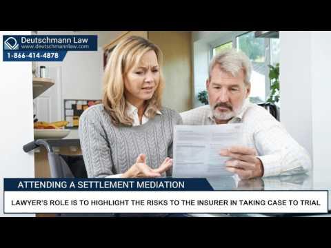 Deutschmann Law - Attending A Settlement Mediation