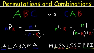 Permutations and Combinations Tutorial, Word Problems, Fundame...