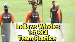 Watch Video: India & West Indies Team Practice In Guwahati   Sports Tak