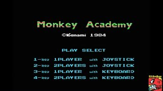 Monkey Academy (MSX Emulated) by ILLSeaBass