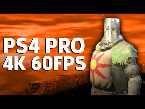 Dark Souls Remastered - PS4 Pro 4K 60FPS Gameplay