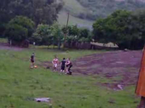Futebol Na Chuva Em Montauri (Sete Capote Burro II)