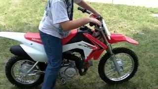 8. 2013 honda crf110