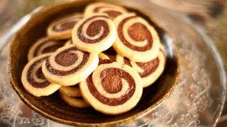Biscuits marbrés choco-vanille