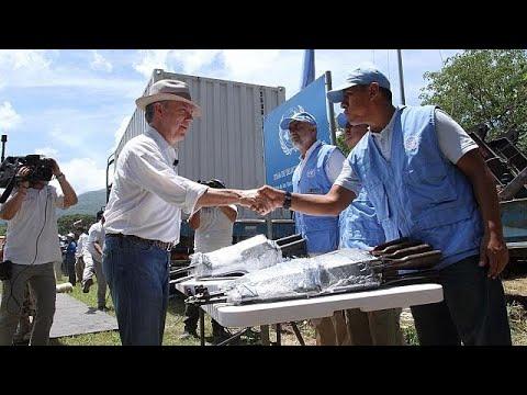Κολομβία: Ιστορική ημέρα με τον αφοπλισμό της FARC