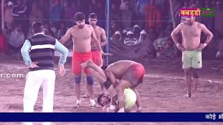 ज़िंदगी में कभी इतना रोचक कबड्डी मैच नहीं देखा होगा | Dhanouri Vs Farmana | Kabaddi Haryana Live