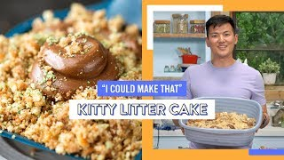 Kitty Litter Cake | I Could Make That by Tastemade