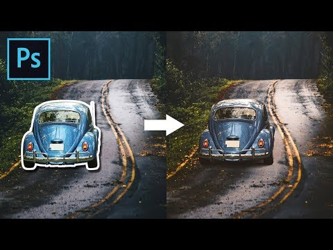 How To Blend Images And Create A Composite In Photoshop