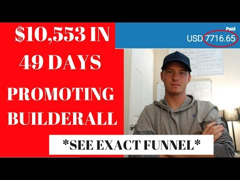 $10K in 48 Days Promoting Builderall [SEE EXACT FUNNEL]