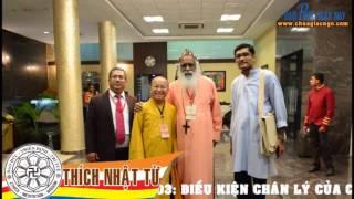 Logic Phật Giáo-2010-Bài 03: ĐIỀU KIỆN CHÂN LÝ CỦA CHỦ TRƯƠNG - TT.Thích Nhật Từ
