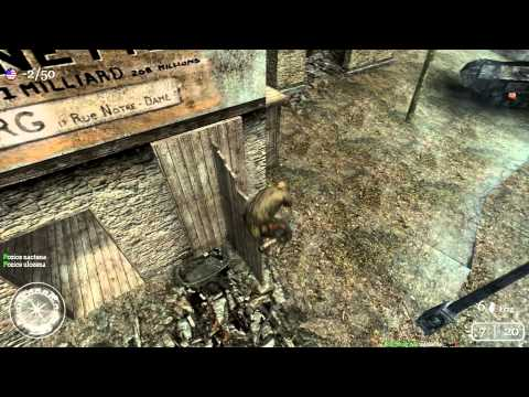 Call of Duty 2 Jumps: Classic map: Dawnville [HD]