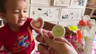 Video Kenzo Batita Lucu Belajar Dagang dan Berhitung dengan Jari | Ice Cream Playset MP3, 3GP, MP4, WEBM, AVI, FLV Februari 2018
