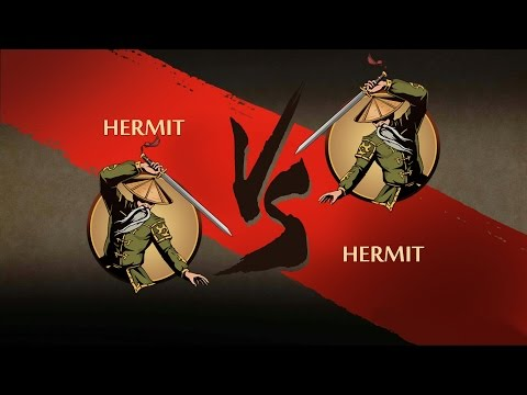 Shadow Fight 2 HERMIT VS HERMIT
