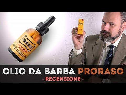 Olio da barba Proraso - Recensione