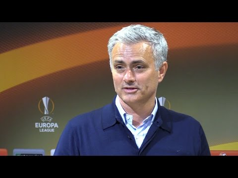 Jose Mourinho Full Pre-Match Press Conference - Tottenham v Manchester United (видео)