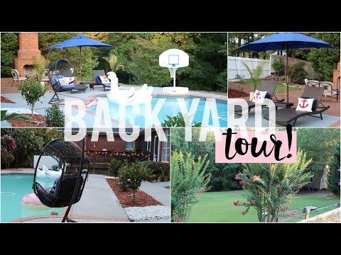 Back-Yard Tour and Decor | #HouseToHome Ep. 11