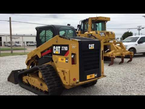 CATERPILLAR SKID STEER LOADERS 279DSTD2CA equipment video XK7CDC54wJs