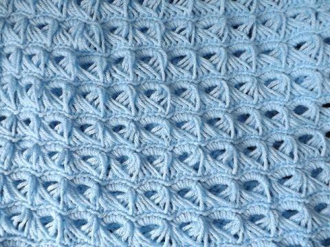 Crochet Colchita o Cobija Para Bebe'