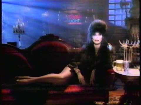 1986 Coors Light beer commercial featuring Elvira.